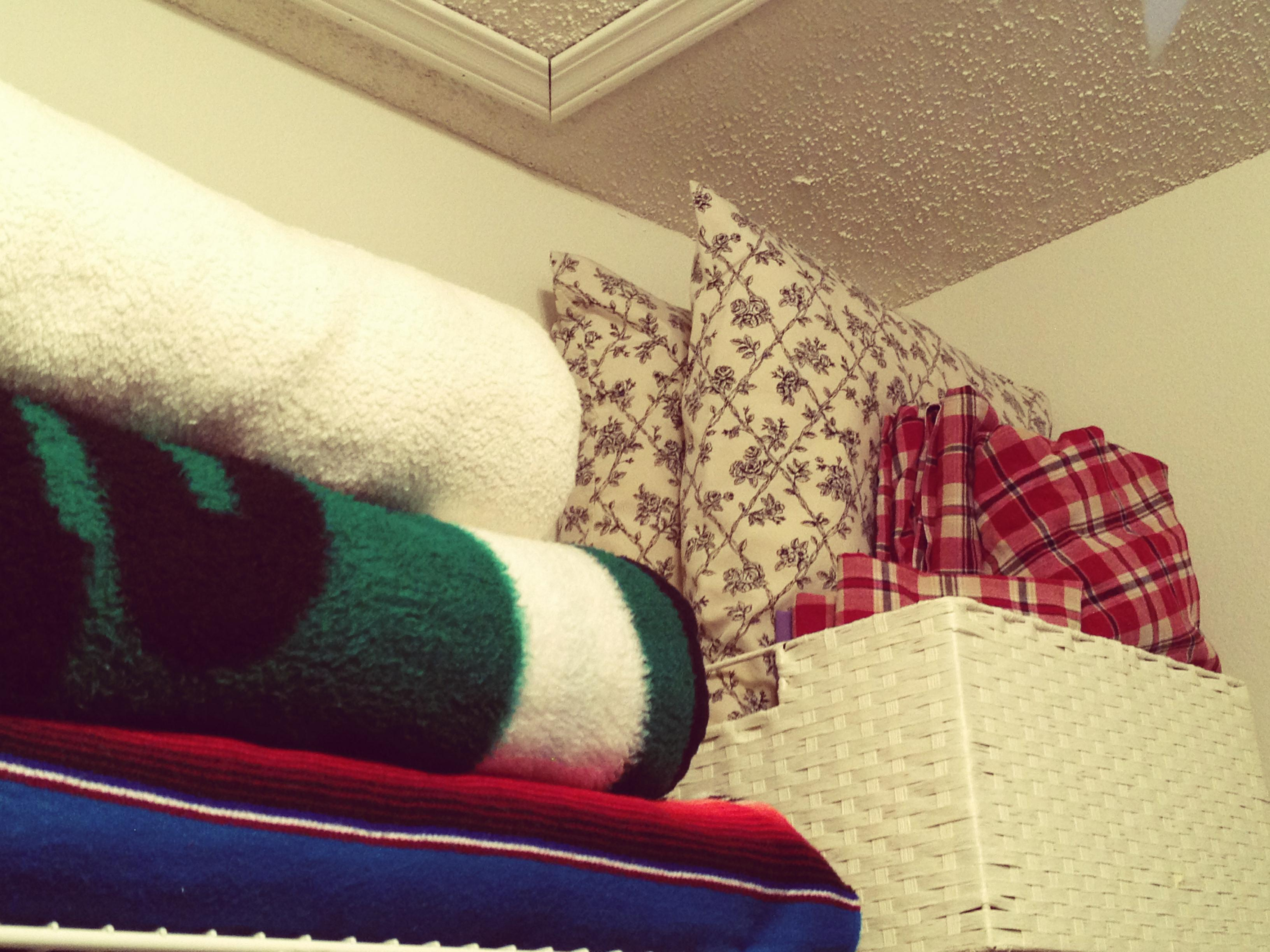 Pillows and Blankies